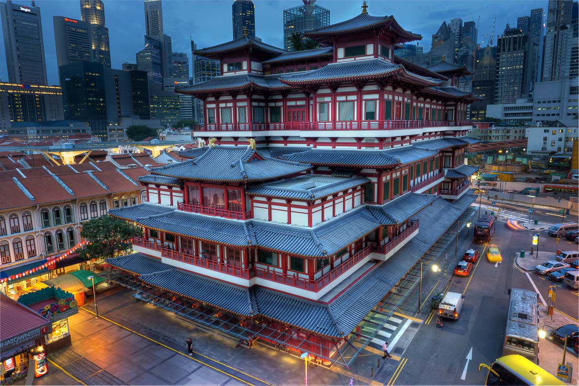 Singapore's Best Bars - Buddha Tooth Relic Temple & Museum